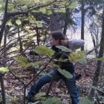 Lydia im Wald für HP